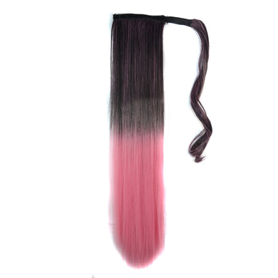 Long Straight Off Color Clip-in Pony Tail Women Hair Extension