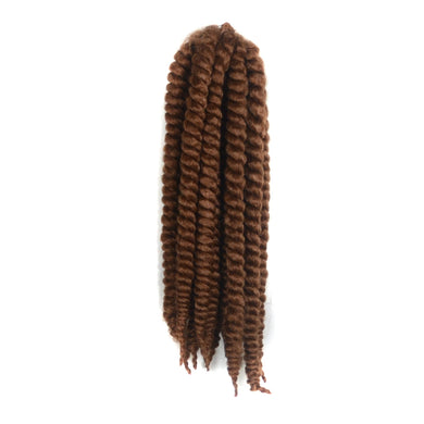 12inch Kinky Curly Bob Marley Braid Synthetic Braiding Hair Crochet Hair Extensions Ombre Crochet Braids 2pcs/Pack Golden Beauty