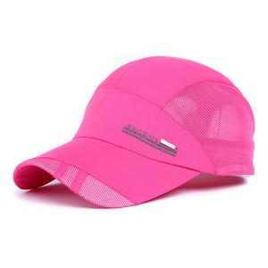 High Quality Outdoor Leisure Mesh Quick-Drying Sun Hat Grid Sunshade Tourism Air Prevented Bask UV Hat Baseball Cap