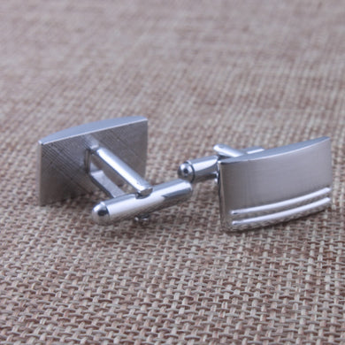 Rectangular Cuff Links Copper Cuff Links Gentleman Gift Exquisite Cuff Links European And American Fashion Accessories
