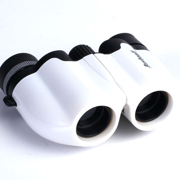 Low Light Visible Binoculars Small Paul White 10X22 Portable Full Optical High Definition