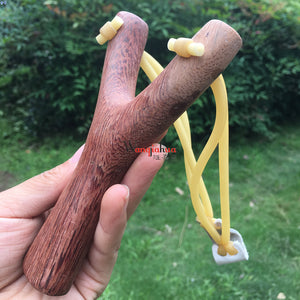Solid Wood Slingshot Chicken Wing Wooden Slingshot Adult Children Playing Birds Playing Pheasant Outdoor Classic Toys