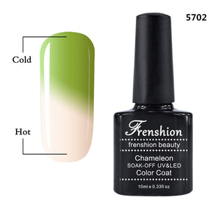 CHAMELEON Off Coloring Changing with Temperature Nail Polish Gel 60 Colors Optional
