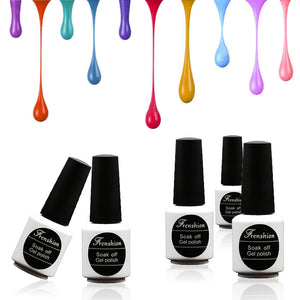 FRENSHION Nail Art Creme Nail Gel 80 Colors Optional