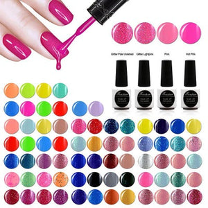 FRENSHION Nail Art Creme Nail Gel 97 Colors Optional