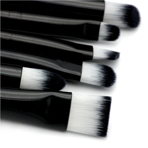 6 pcs/Set Eyeshadow Makeup Brushes Set (1 set)