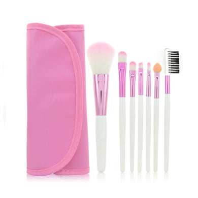 7 pcs/set Candy Color Professional Makeup Brushes (1 set)