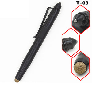 Tactical Pen Tungsten Steel Self Defense Multi-function Emergency Glass Breaker