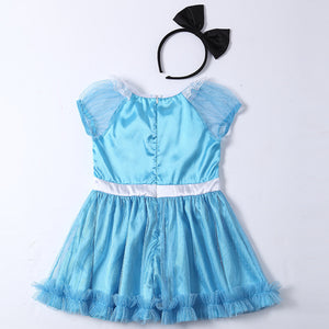 Kids Halloween Costume Servamp Cosplay Sissy Dress Girls Children Maid Outfit Fancy Clothing For Alice In Wonderland Party