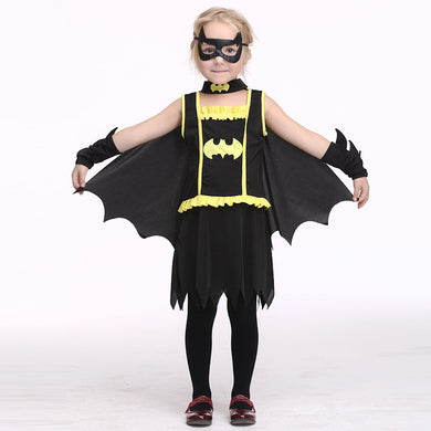 Halloween Children's clothing Batman Role Playing Kit Cosplay Costumnes