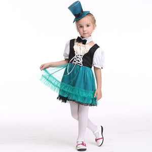 Girl Pirate Costume Halloween Costume For Kids Stage & Dance Wear Toddler Party Cosplay Short Skirt