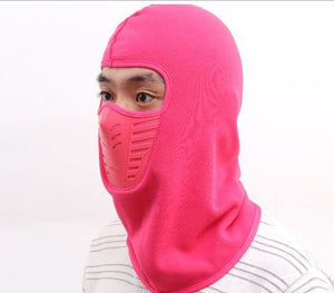 Winter Hat Windproof with Face Mask for Men