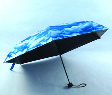 Folding Umbrella Anti-UV Sunproof Lightweight Compact Travel Umbrellas