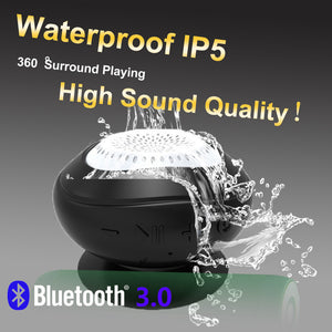 Waterproof Bathroom Portable Bluetooth Audio Speaker