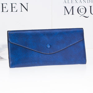 A Long Wallet With A Purse Made Of Genuine Leather Purse Women's Wallet