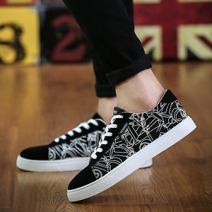Spring Breathable Men's Casual Shoes Han Edition Cloth Shoes Mens Shoes