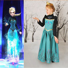 Snow Party Dress Queen Costume Princess Cosplay Dress Up