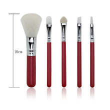 5 pcs/Set Professional Makeup Brushes Set Fiber Brushes (1 set)