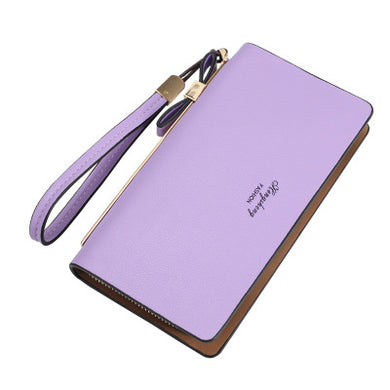 Fashionable Female Zipper Purse