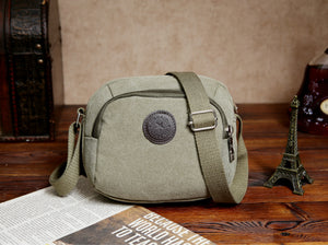 New Type Of Leisure Single New Canvas Backpack Men's Shoulder Bag Is Simple Fashion