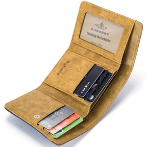 Canvas Wallet Men Simple Casual Style Short Men Wallet Small Clutch Male Wallet Top Quality