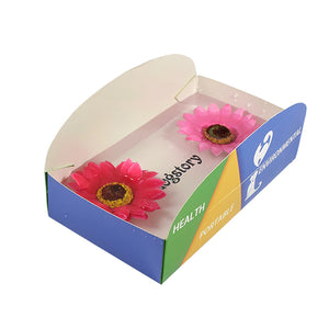 Outdoor Paper Outdoor Portable Pet Water Bowl Dog Bowl Travel Paper Folding Bowl
