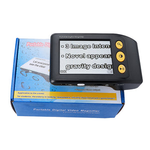 NEW Low Vision Hand-held magnifier Reading magnifier Aid, Digital Video Magnifier electronic microscope 2-25X
