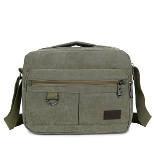 New Canvas Men's Handbag With Shoulder Bag And Shoulder Bag Manufacturer Wholesale