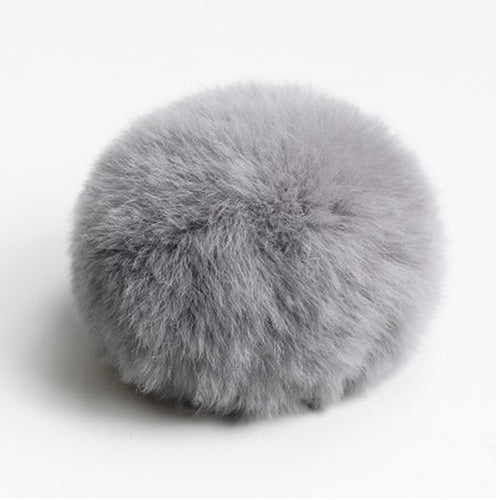 8cm Ball Fluffy Ball Keychain Bag Charms