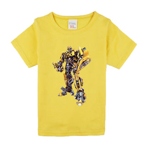 Children Kids Clothing Short Sleeve Tees