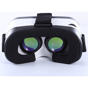 VR S-Mac 2 Virtual Reality 3D Glasses Bluetooth Touch Semi-Body Machine Green Glass Lens