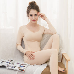 New Modal Body Thermal Underwear Suit Large V-Neck Seamless Body Thin