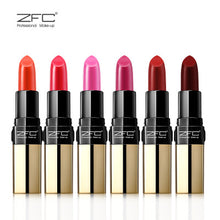 ZFC Matte Lip Stick Lasting Moisturizing Lip Gloss With Orange Red Lipstick Matte 6 Colors