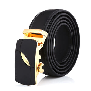 Fashion Synthetic Leather Belt Alloy Buckle Belt