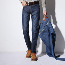 Shift Blue Jeans Classic Design Denim Trousers for Men