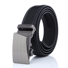 Casual Synthetic Leather Black Belt Ratchet Buckle Belt
