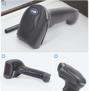 Laser Bar Code Scanner Cable Scanner Portable Scanner For Supermarket