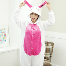 Cartoon Rabbit One Piece Home Wearing Pajama Costumes