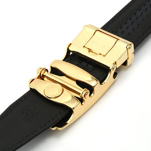 Alloy Automatic Closure Car Shape Synthetic Leather Belt for Men