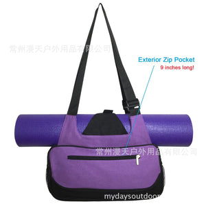 Fitness Dancing Yoga Bag Slant Cross-Shoulder Yoga Pack Yoga Suit