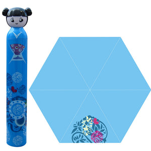 Chinese Dolls Bottle Design Portable Convenient Umbrella