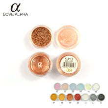 LOVE ALPHA Eyeshadow Glitters Bride Makeup Club Makeup Multiple Useful Eyeshadow Glitters