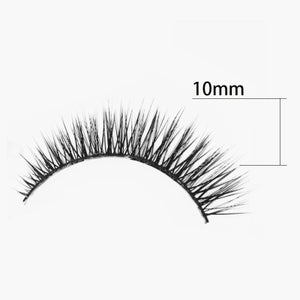 SHILINA 7 Serial 3D False Eyelashes Prolonged Slender Eyelashes (1 pair)