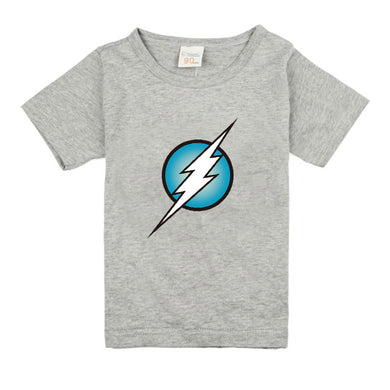 Kids Clothing Short Sleeve Tees The Flash Baby Boys T-Shirts For Children Outwear Baby T-shirt