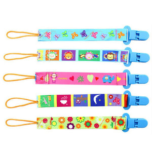 Baby Toys 0-12 Month Infant Soft Cartoon Animal Pacifier Strap Nipple Anti-drop Chain Educational Doll For Newborn Babies Kids