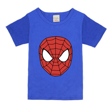 Children Kids Clothing Short Sleeve Spiderman Tees Baby Boys T-Shirts Outwear Baby T-shirt