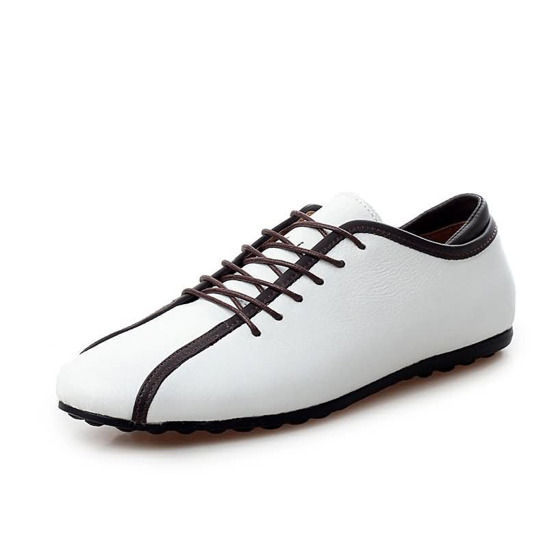 Men's leather shoes Genuine leather oxford shoes Men (1 pair)
