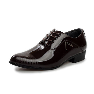 Men Formal Leather Shiny Shoes