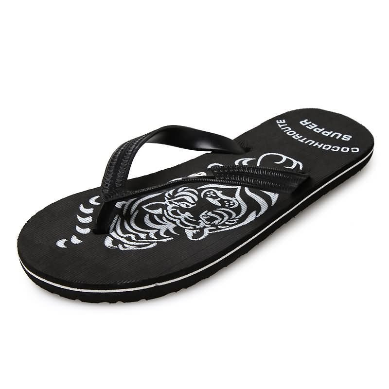 Summer Lovers Flip Flops Comfortable Beach Shoes