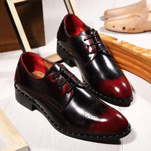 Men Dress Shoes Luxury Fashion Groom Wedding Shoes Men Oxford shoes (1 pair)